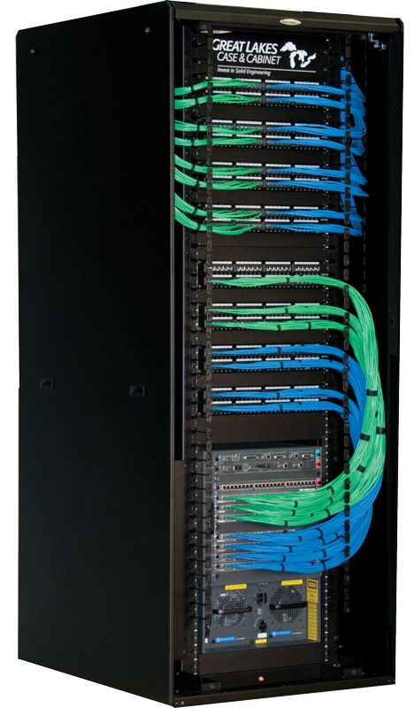 Network B Wiring Comms Rack Cable Management 2 Tech Stuffs In 2019