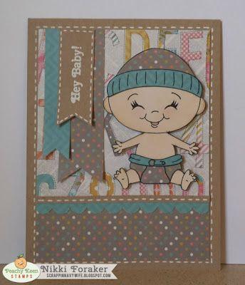 Peachy Keen Stamps: Nikki Foraker :: Hey Baby!