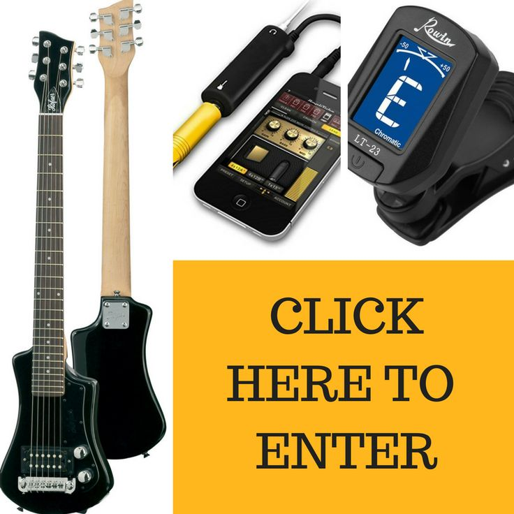 Win a Hofner Shorty Electric Travel Guitar + IK Multimedia iRig Guitar-to-Phone Adapter + Rowan LT 23 Clip-On Guitar Tuner ! http://giveaway.guitardeals.co/ref/S7206266
