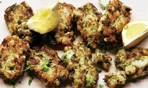 Yotam Ottolenghi's full-of-herbs fish cakes