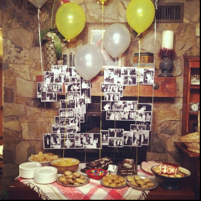 Dads 25th Anniversary Surprise Party on Pinterest 50th anniversary ...