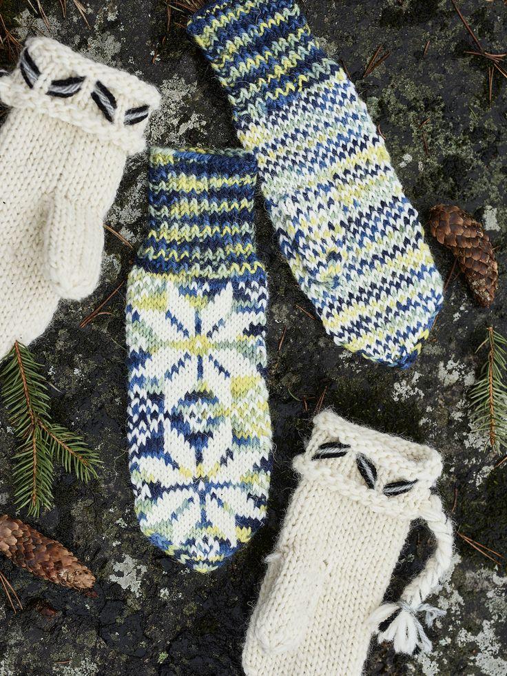 Novita Autumn/Winter 2017, Novita mittens #novitaknits #knitting #knits https://www.novitaknits.com/en