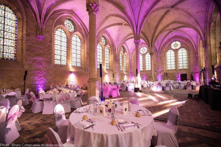 Abbaye de Royaumont Salle de réception