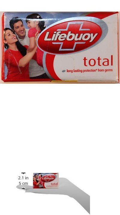 Bar Soaps: Lifebuoy Total Soap 120 Gram Unit Pack Of 12 New -> BUY IT NOW ONLY: $31.45 on eBay!
