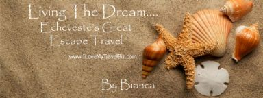 Bianca Echeveste - Travel Agent - Echeveste's Great Escape Travel ~ We are a full service travel agency open 24/7. From simple last minute weekend escapes to group cruises and family packages we are here to serve YOU! www.ilovemytravelbiz.com