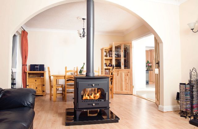 double sided carraig mor stove - LOVE IT!