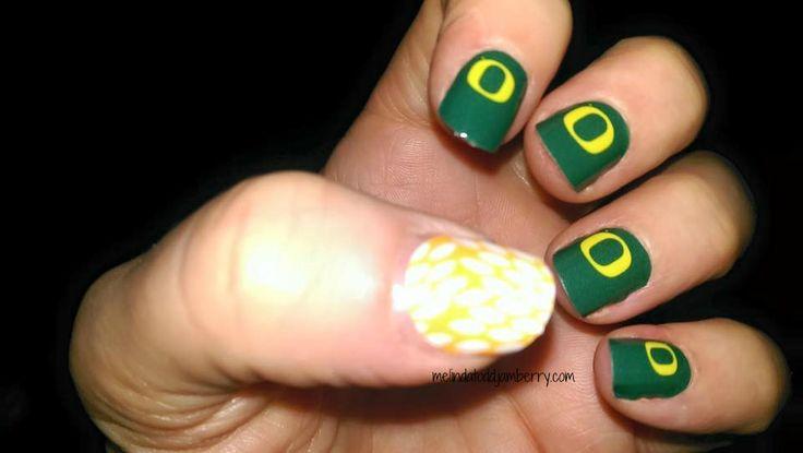 Oregon Ducks nails!