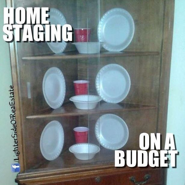 Home Staging On A Budget #realestatedonts Www