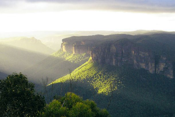 The Grose Valley, Blue Mountains National Park. Image credit: Craig Marshall, National Parks