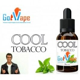 Super kool mentholated tobacco e-liquid