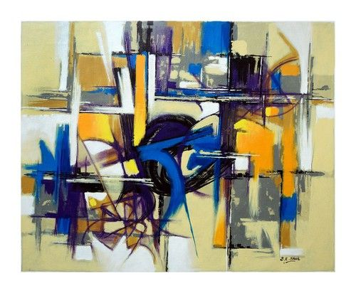Buy Abstract painting, abstract art painting Online