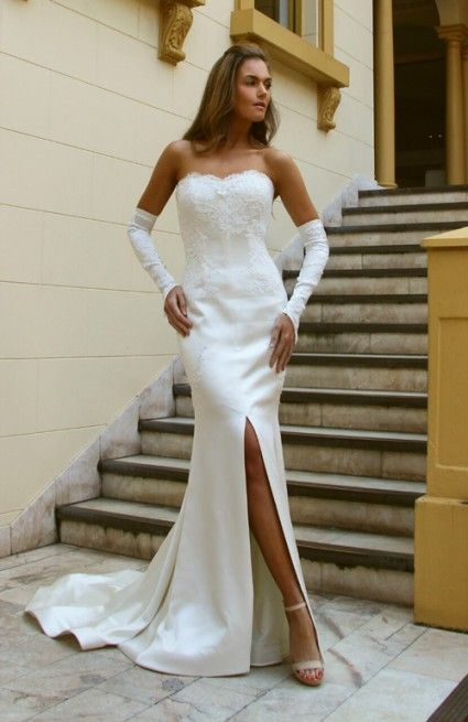 """The """"GISELLE"""" gown."""