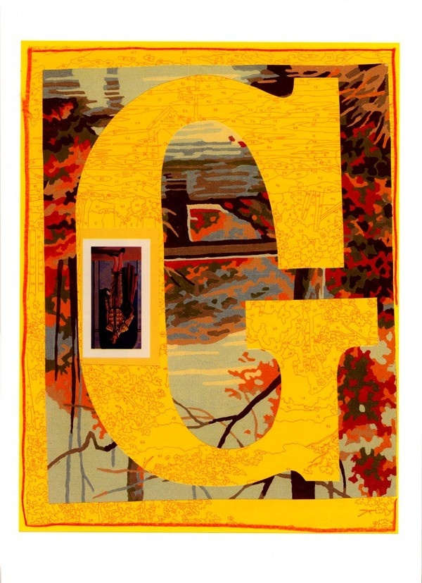 G is for... (yellow) - by Trey Speegle