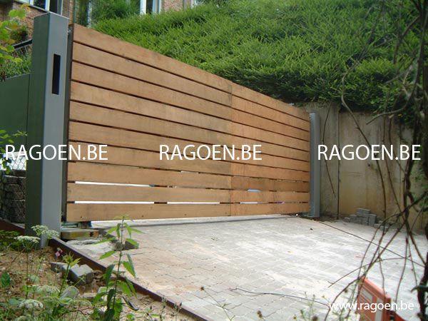 1000 id es sur le th me portail bois sur pinterest portail aluminium porta - Planche bois pour portail ...