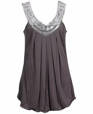 Dressy tank tops are so great for any kind of mood. if you feel casual put a jean jacket over it. business meeting then just a blazer over it. a night at the clubs, then bring a clutch in a similar color or pattern. they are the perfect shirt for your dressy/casual collection.