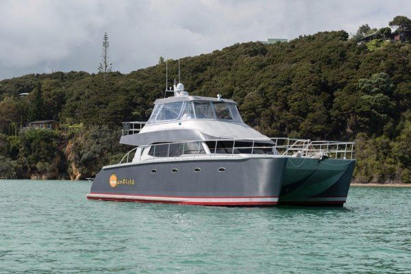 Tennant Powercat Open Ocean 46. Offering luxurious living for ocean-going passages and ultimate functionality for deep sea fishing, this 14-meter power catamaran...Find out more
