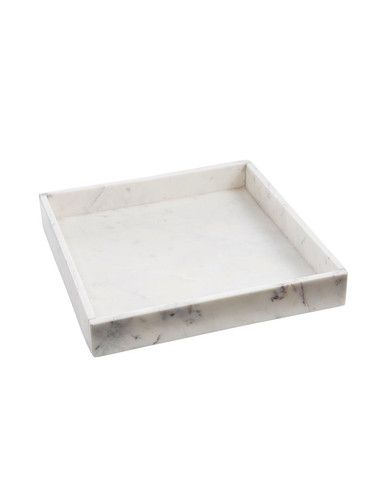 Marmeren schaal XL, vierkant. Via stock home.nl #bathroom #marble #bathroomstyling #stockhome #Stockhomeshop