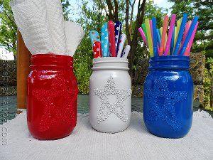 Salty Star Jars – ich möchte wirklich einige davon machen. So eine süße Idee zum Halten …   – Christmas