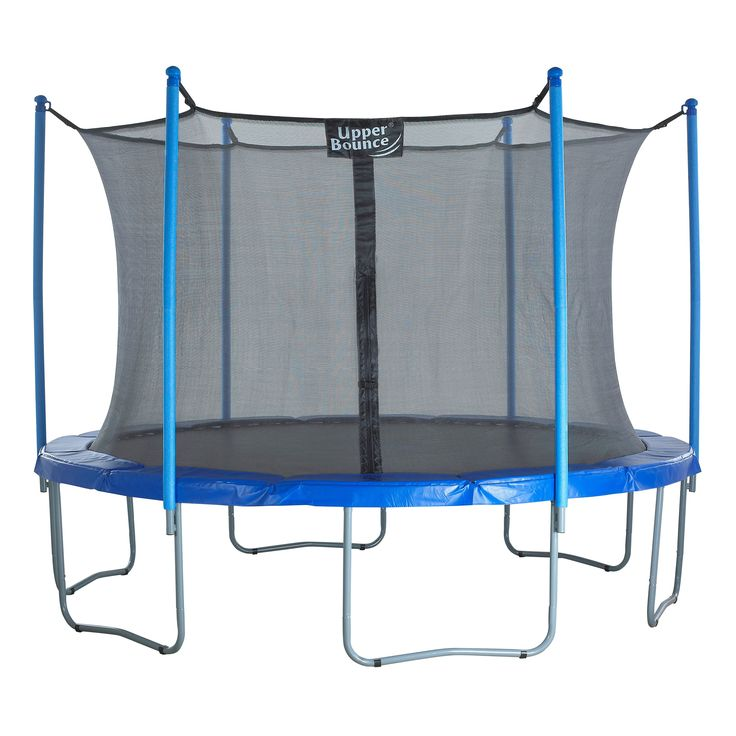 Upper Bounce 15 ft. Trampoline & Enclosure Set with New Upper Bounce Easy Assembly Feature   from hayneedle.com