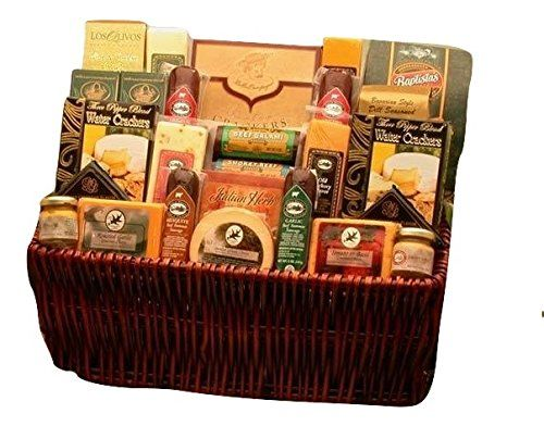 Great Ultimate Gourmet Meat and Cheese Gift Basket, ,