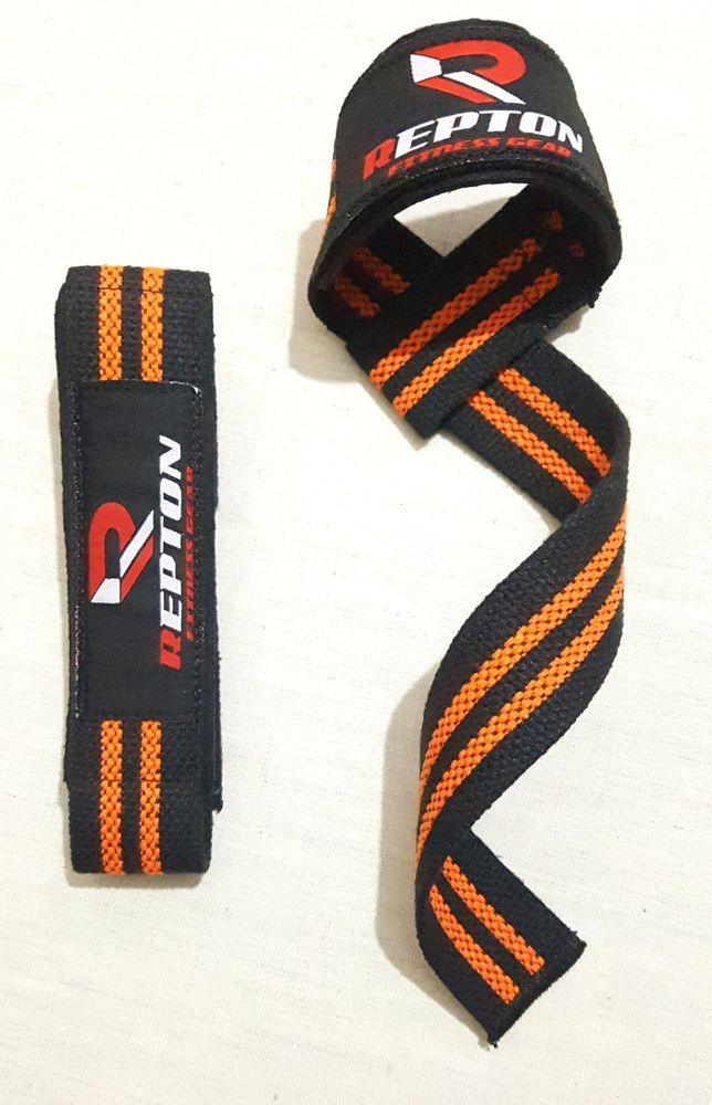 Repton's Padded Weight Lifting Straps / Hand Bar Wrist Support Straps / Gym Straps. For extra grip and support to wrist while heavy lifting. Repton's Weight Lifting Straps made by 100% cotton. For all bar related lifting. | eBay!