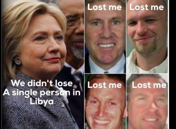 """Meme debunked: Hillary Clinton's assertion that """"we didn't lose a single person in Libya"""" appeared to overlook victims of Benghazi, but it was taken out of context."""
