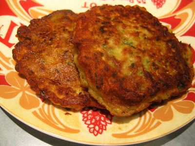 Something Else to Eat: Courgette and potato fritters