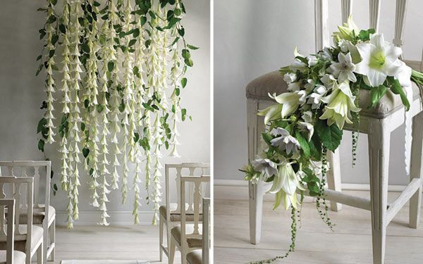 DIY do-it-yourself easter lilies altar ceremony decor backdrop