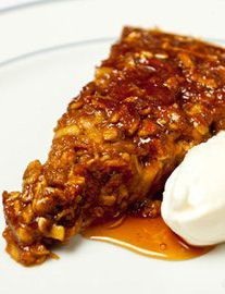 IRISH CUISINE - Honey and stout tart - Richard Corrigan - wonderfully Irish recipe that is easy to follow.