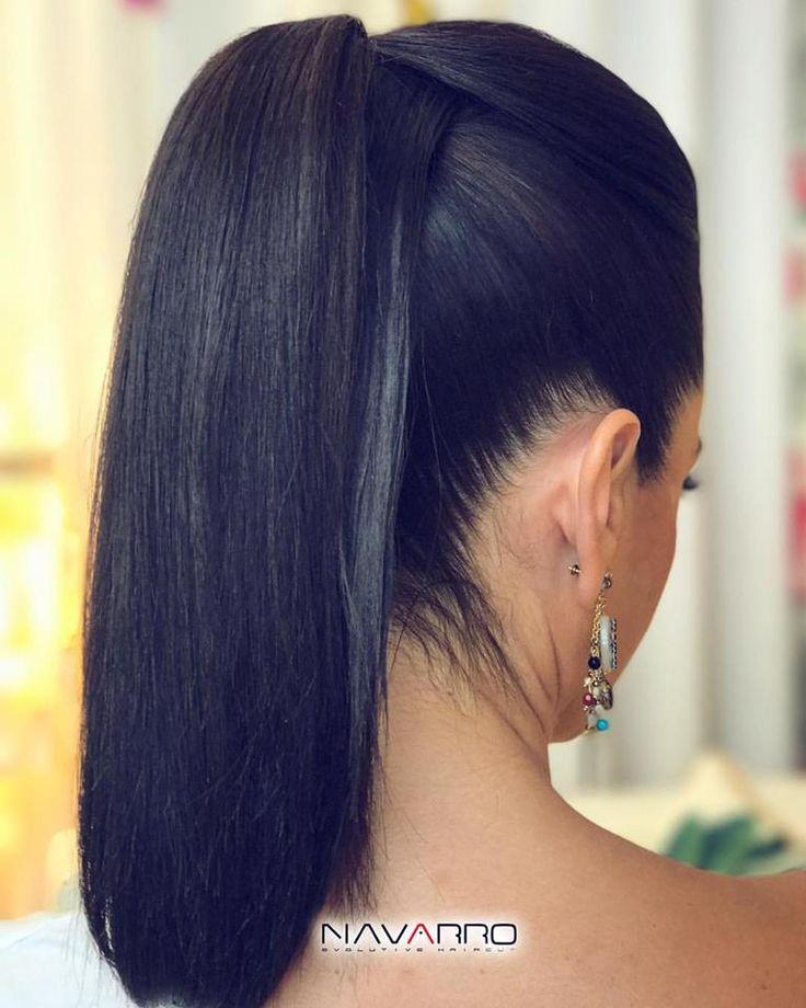 Hoy reinventarnos un gran clásico con nuestra #ColetaPlana, con líneas muy pulidas y lisas, y un poco de volumen en la parte alta de la cabeza. Decidnos si os gusta! ♀️ #Coleta #Peinados #Tendencia #HairStyle #Pelo #peluqueria