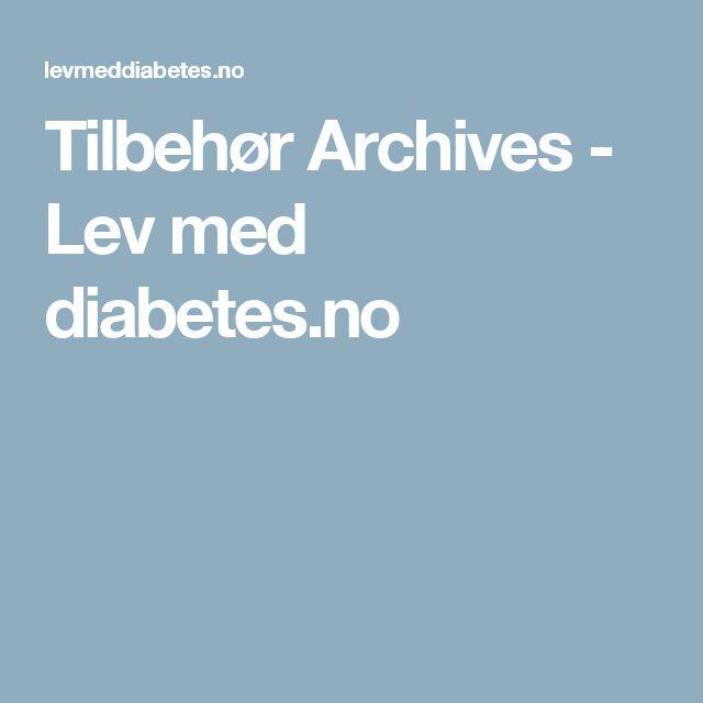 Tilbehør Archives - Lev med diabetes.no