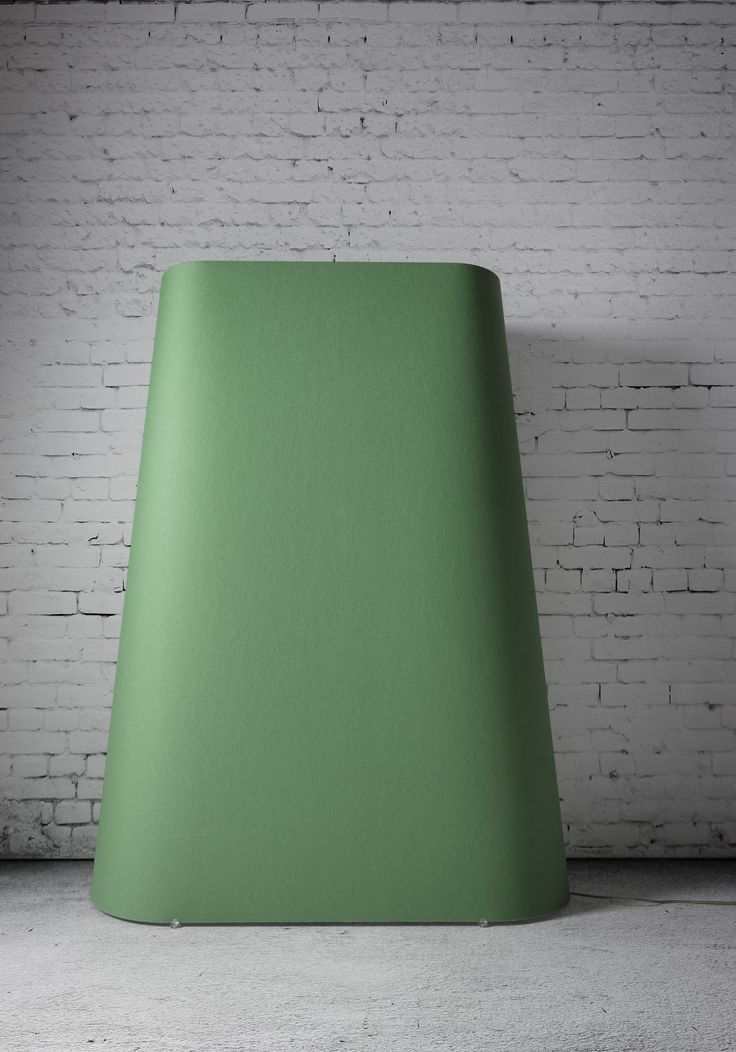 Design MURRAY   floorlamp 'ACOUS' 100% woolfelt, 74 colors!