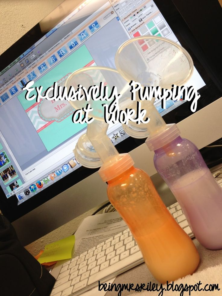 Being Mrs. Riley: Postpartum: Exclusively Pumping at Work
