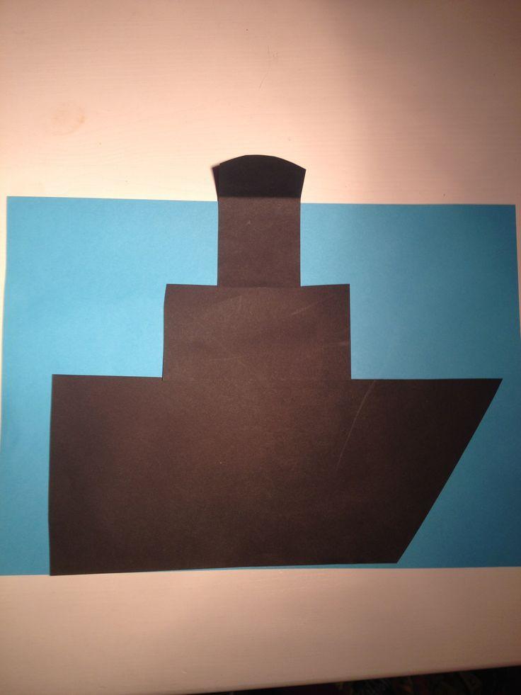 Stoomboot Leerlingen maken hun eigen stoomboot. Ze maken van zwart papier de boot. Verder is het naar eigen invulling. Cadeautjes, zwarte pieten, wol spannen en vlaggetjes eraan maken.