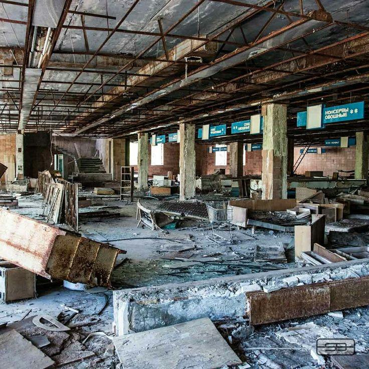 Supermarket near Chernobyl