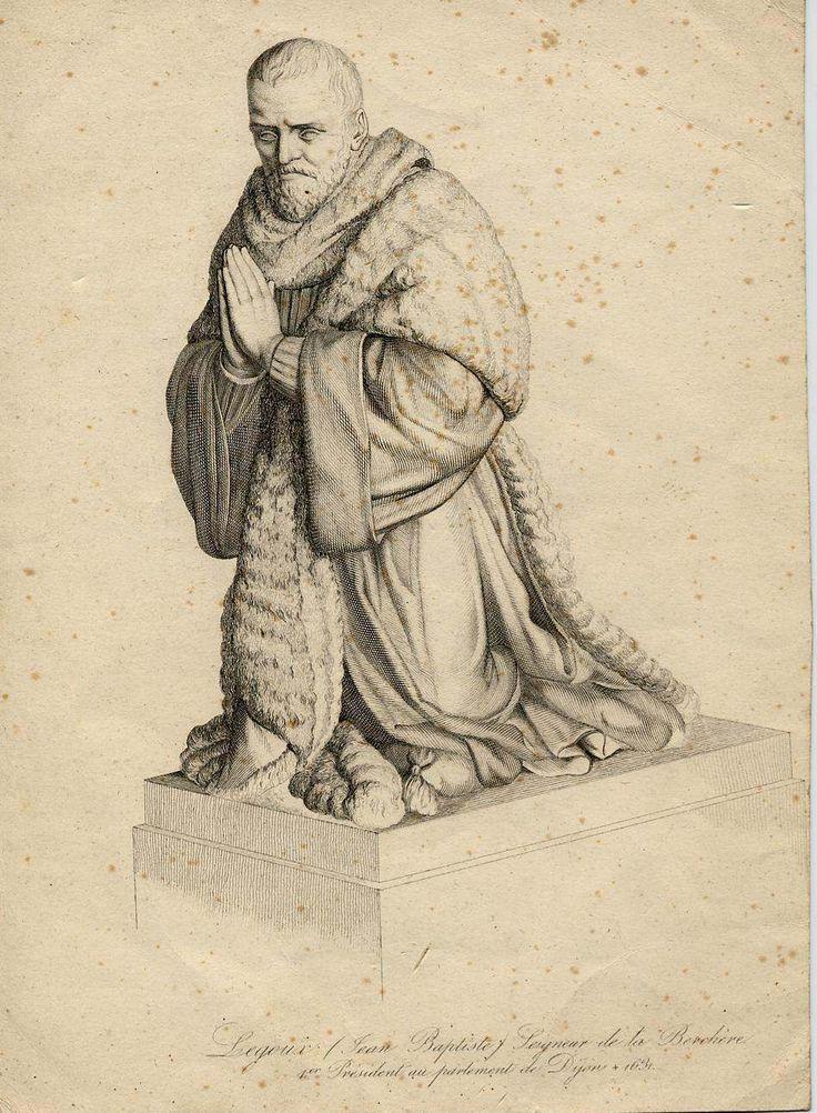 Jean-Baptiste Le Goux de la Berchère, 1er président au parlement de Dijon