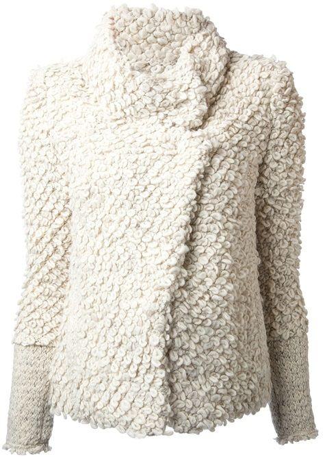 IRO 'caty' Knitted Looped Jacket
