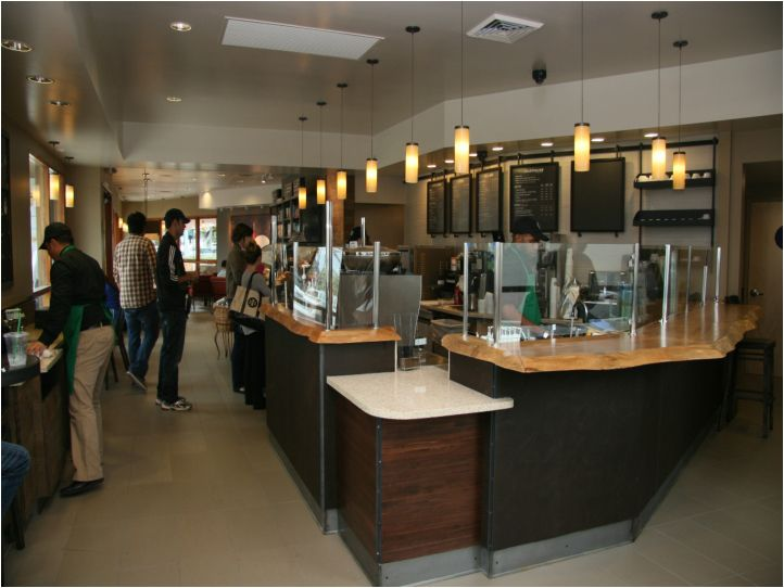 Starbucks bar design