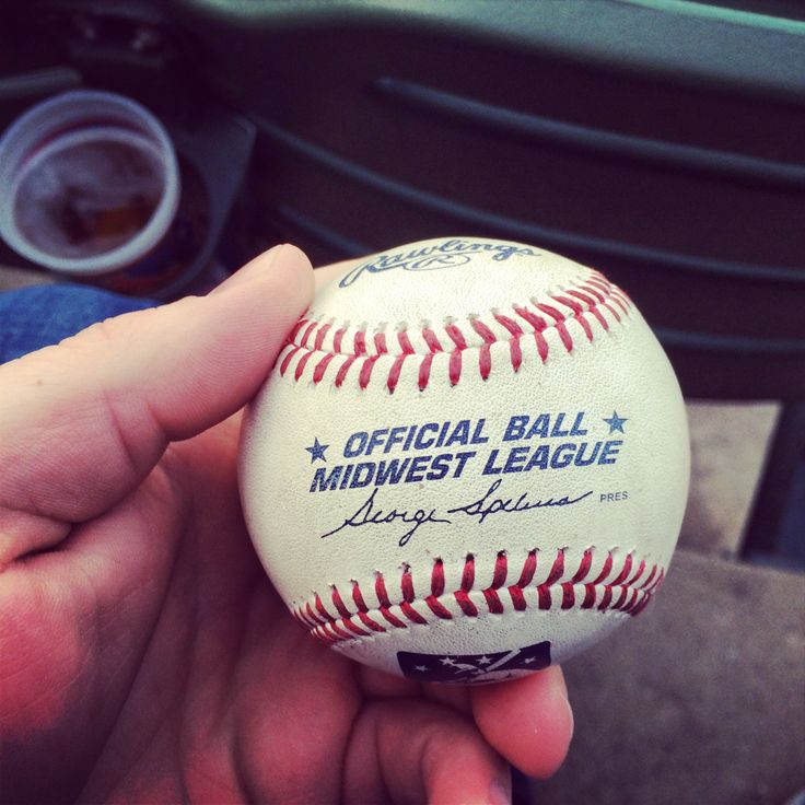 Check out the Peoria Chiefs in Class A Minor League Baseball action! Already caught a foul ball at tonight's game between the Chiefs and the Dayton Dragons!