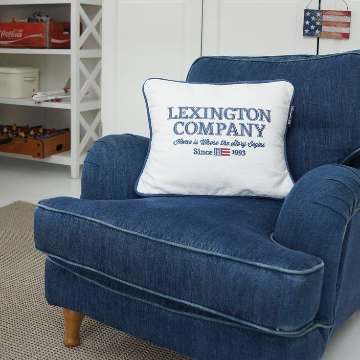 Englesson, jeans, fåtölj, howardfåtölj, howard, armchair, lexington company, star, stars and stripes, boys room, boysroom, inspiration, light blue, pojkrum, molban