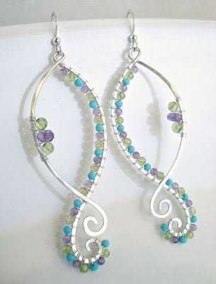 Beader Garden: Trendy Style – Wire Wrapped Jewelry