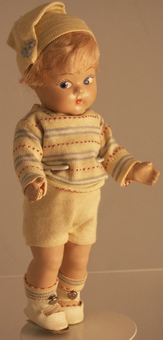 Vogue -- Toddles Composition Pair of Dolls  Offered by:  Antique & Collectibles Marketplace