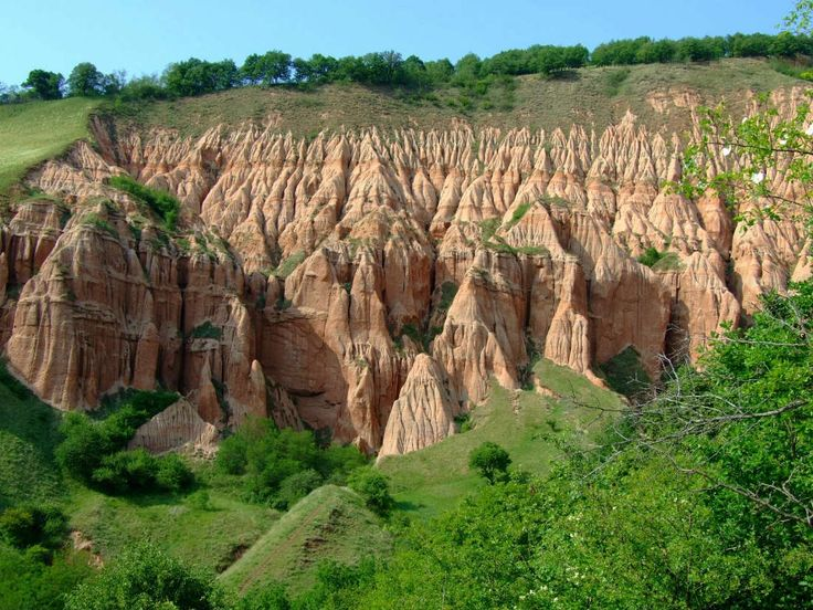 The red ravine - Rapa Rosie (Sebes, Romania)