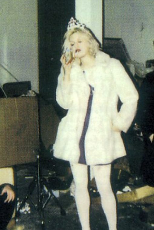 Hole / Courtney Love.  Now that's a rebel. That takes strength and guts. Her flaws make her real.