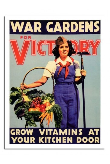 War Gardens For Victory Print £7.99