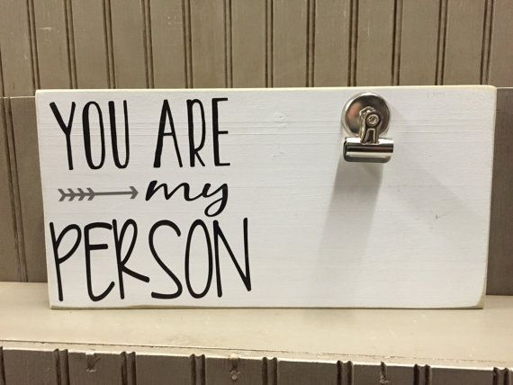 You are my Person - wording