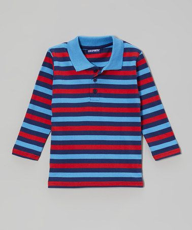 This Navy Stripe Polo - Infant, Toddler & Boys is perfect! #zulilyfinds