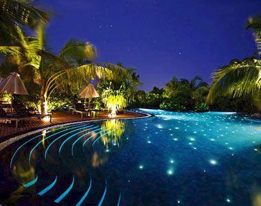 Maldives asia the swimming pool at the beach house at - Dream interpretation swimming pool ...