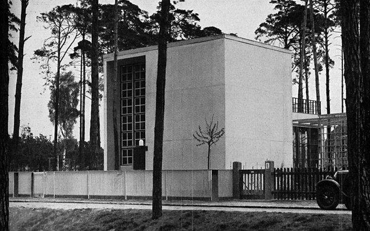 harry rosenthal - arnold zweig residence, berlin, 1929