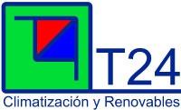 Desarrollo de web presencial para T24 CLIMATIZACIÓN Y RENOVABLES. Empresa andaluza dedicada fundamentalmente a la venta, instalación, mantenimiento y reparación de aire acondicionado tanto doméstico como industrial. Profesionales ampliamente cualificados y acreditados por la Junta de Andalucía.